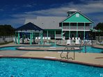 Bermuda Bay Resort Pool Complex with Lazy River and Waterslide