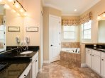 Private Ensuite for Master suite #1