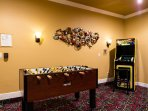 Foosball or classic video games anyone - 60 classics, one machine, no costs!