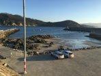 Puerto pesquero de Porto de Espasante.
