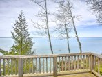 Beautiful lakefront views will have you feeling relaxed in no time!