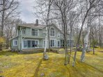 Relish in the beauty of Lake Michigan from this beautiful vacation rental house!