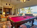 Ocean view den/game room
