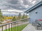 Relax on your private balcony and enjoy views overlooking Flathead Lake and Blacktail Mountain!