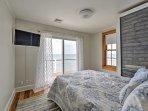Each bedroom boasts a flat-screen SmartTV.