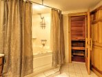 Wake up after a peaceful night's sleep and start your day with a therapeutic sauna session before your next adventure!