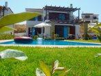 Garden and private swimminig pool