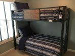 Bunk beds for the kiddos (or the random uncle)
