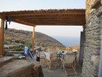Guest house veranda