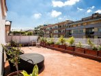 Beautiful penthouse in via Gallia - Rome - terrace 2