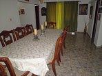formal dinning room seats 8