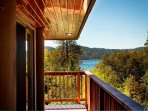 Beautiful views of the lake from the home.