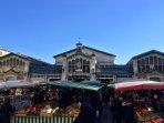 Le marché de La Rochelle