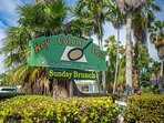 Famous Key Colony Inn Restaurant.  A 'Favorite' of our family for many years.