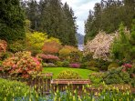 Butchart Gardens is a must see.  Only 1.5 hour drive from the condo.