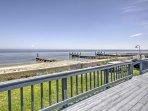New! Beachfront 4BR St. Leonard Cottage w/ Deck!