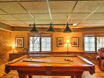 Boasting 2,400 square feet of comfortable living space, a hot tub, pool table, foosball table and dartboard, this home...