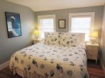 Bedroom 2 - 1 King Bed with En suite bath. 2nd Floor- 'Chatham Light' - 388 Main Street (The Priscilla House) Chatham...
