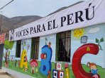 I, (Founder) of V4PERU NGO also have a base for Private School, and other programs. Take a day w/ us