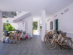 Free bike rental for our guests