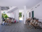 Free bikes for the use of our guests