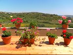 Picture perfect views from terrace 1 at The Couple's Getaway at Perfect Location on Gozo.