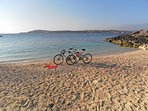 FREE bicycles, helmets, locks, maps and guidebooks to discover Gozo by bikes.