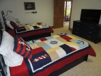 Twin Bedroom with Two Trundle Beds.