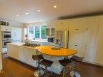 kitchen at Fischer House