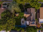 Arial View of Fischer House