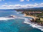 Poipu Coastline