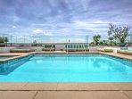 End your day on the rooftop admiring the views and swimming in the heated pool.