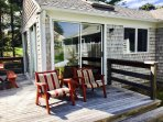 Large Back Deck-13 Marlin Road South Harwich Cape Cod New England Vacation Rentals