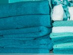 Plenty of fluffy and soft beach and bath towels!