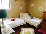 #2 bedroom, play house, books and toys