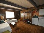 Guest bedroom, first floor, 2-twins. Bigfoot Cabin Unit 4 Lot 281 Pine Mountain Lake Vacation Rental Near Yosemite...