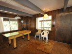 Guest bedroom, first floor, 2-twins. View 4. Bigfoot Cabin Unit 4 Lot 281 Pine Mountain Lake Vacation Rental Near...