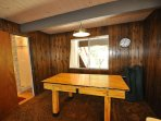 Guest bedroom, first floor, 2-twins. View 5. Bigfoot Cabin Unit 4 Lot 281 Pine Mountain Lake Vacation Rental Near...