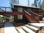 Side view. Bigfoot Cabin Unit 4 Lot 281 Pine Mountain Lake Vacation Rental Near Yosemite National Park
