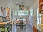 Enjoy seating for 6 at the kitchen table!