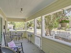 Enjoy the fresh air from the front porch!