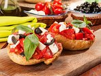 A gastronomic Greek  meal. There are numerous restaurants in the area.  Bon appétit !