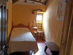 The single room here at the La Rondana Holiday Rental.