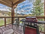 Private Deck View with BBQ Grill