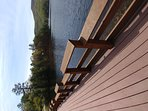Fishing boardwalk