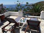 Enjoy the Aegean Sea view and sun!