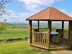 Woodland pavilion to enjoy the spectacular views.