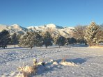 The winter views are incredible!