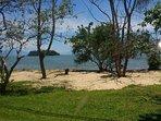 Tranquilidade. Praia da Jabaquara
