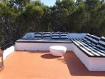 roof top terrace chillout lounge